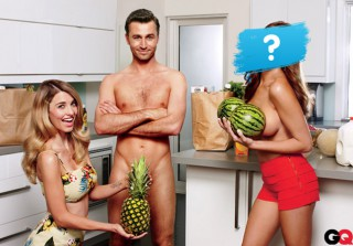 Which Bravo Star Posed Topless With Porn Star James Deen?