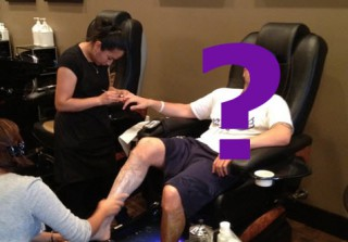 Which Jersey Shore Star Got a Manly Mani-Pedi? (PHOTO)