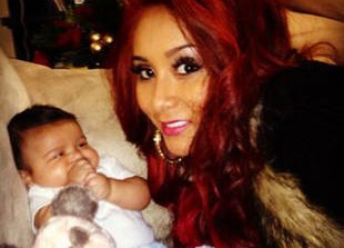 How Does Snooki Talk to Son Lorenzo While She's Away? (PHOTOS)