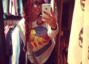 Snooki Goes Retro, Rocks a Side Braid and Lion King Shirt! Love It or Leave It? (PHOTO)