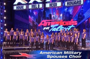 America's Got Talent Audition: Military Spouses Choir Inspires the Judges!