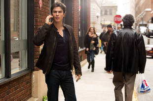 Ian Somerhalder Instagrams Behind-the-Scenes Video From The Vampire Diaries Set