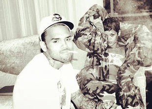 Rihanna and Chris Brown Celebrate Love \