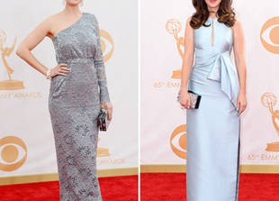 Zooey Deschanel vs. Emily Deschanel: Which Sister\'s Style Was Best at the 2013 Emmys? (PHOTO)