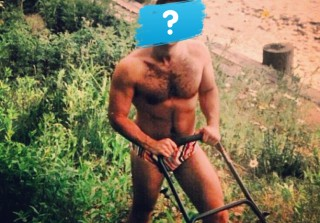 Which Reality Star Posed in a Speedo Pushing a Lawnmower? (PHOTOS)