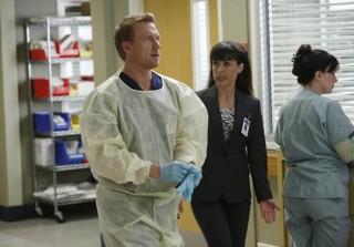 "Grey's Anatomy Season 9 Episode 13 ""Bad Blood"" Recap: Battling Doctors, Baby Love, and Big Brother"