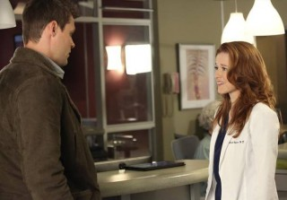 Grey\'s Anatomy\'s Sarah Drew on April and Matthew\'s Premarital Counseling — Exclusive