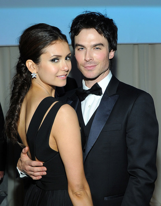 vampire diaries cast dating in real life Nina dobrev & ian somerhalder dating again — 'tvd' costars back together elena and damon went through a serious emotional roller coaster on 'the vampire diaries,' but it sounds like the.