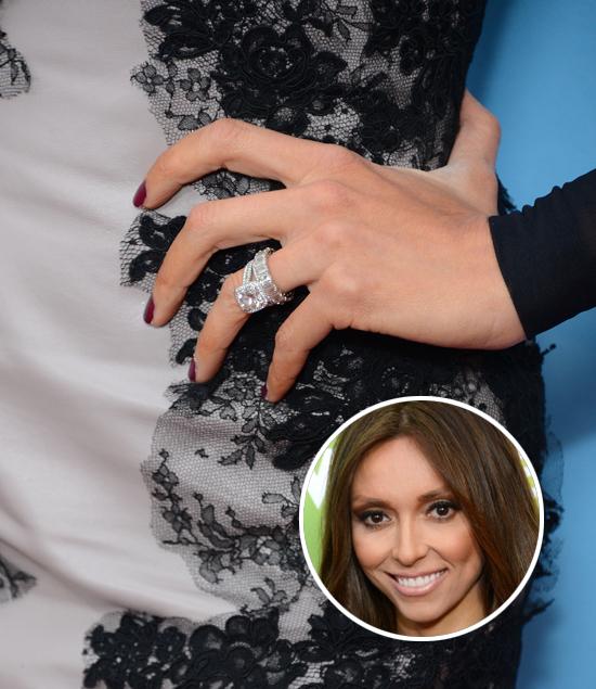 Does Giuliana Rancic Have Two Wedding Rings PHOTOS