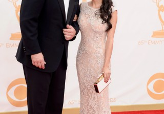Emmys 2013: Nathan Fillion and Mikaela Hoover Get Close Before His Performance! (PHOTOS)