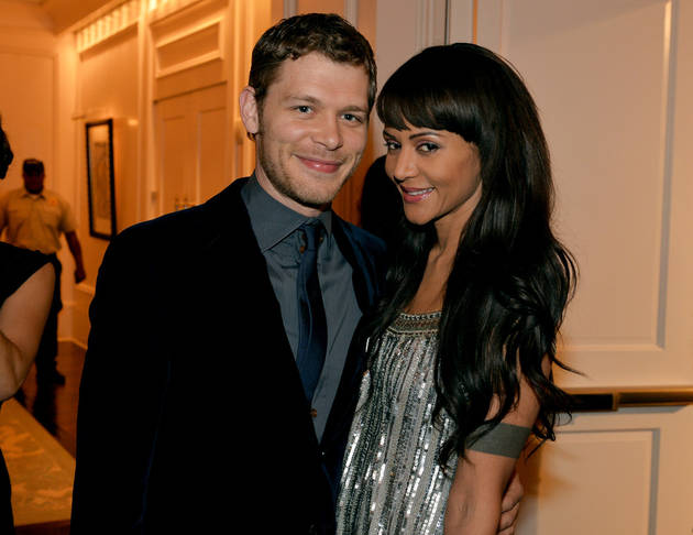 Joseph Morgan And Girlfriend Persia White Spend The