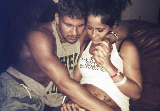 Jenelle Evans's Boyfriend Nathan Griffith Removes Her Surgical Stitches! (VIDEO)