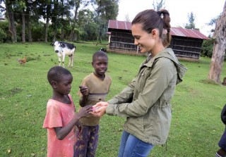 Torrey DeVitto Works on Road to Hope Documentary in Africa — See Her in Action! (PHOTOS)