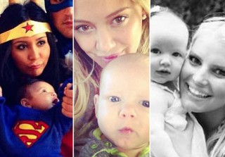Cutest Celebrity Moms and Babies of 2012: Beyonce, Snooki, and More! (PHOTOS)