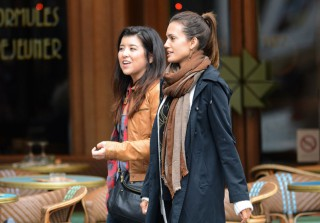 Former Vampire Diaries Star Torrey DeVitto Enjoys the Single Life in Paris! (PHOTOS)