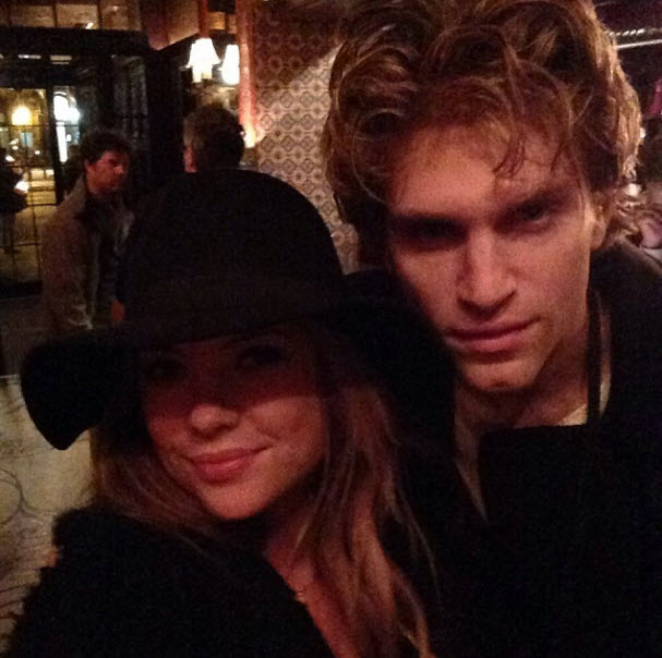 Keegan Allen And Ashley Benson Kissing Ashley Benson and Keegan