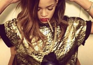 Rihanna Halts Tour Over Laryngitis