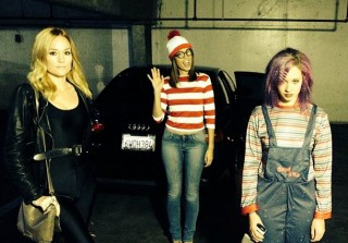 Torrey DeVitto Is Waldo For Halloween! (PHOTO)