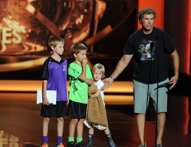 Will Ferrell Kids Emmys 2013 Emmys: Watch Will...