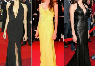Angelina Jolie\'s Sexiest Red Carpet Looks of the Decade (PHOTOS)