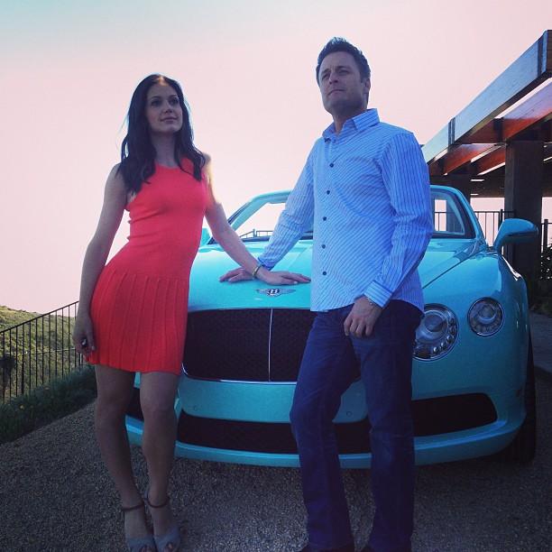 Bachelorette 2013: Desiree Hartsock's Aqua-Blue Bentley