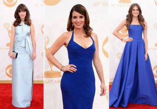 Emmys 2013 Red Carpet Trend: 50 Shades of Blue! (PHOTOS)