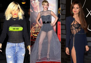 Jennifer Lawrence and 17 Other Celebrities in See-Through Fashion (PHOTOS)