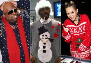 19 Celebrities in Ugly Holiday Sweaters (PHOTOS)