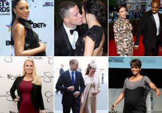 2013 in Baby Bumps: Kim Kardashian, Kate Middleton, Kerry Washington, and More!