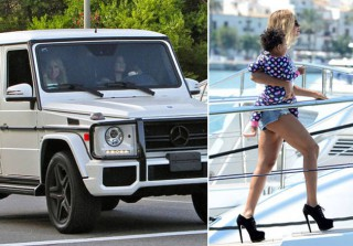 Celebrity Extremes of the Week: Kylie's Crazy Car Crash, Beyonce's 7-Inch Heels