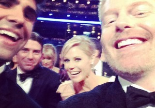 Emmys 2013: Celebrities Share Intimate Behind-the-Scenes Photos