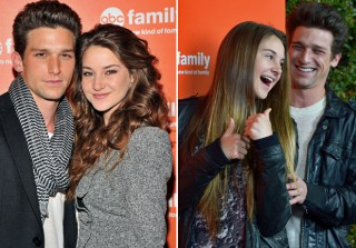 Secret Life's Amy and Ricky Off-Screen: Shailene Woodley and Daren Kagasoff Through the Years! (PHOTOS)