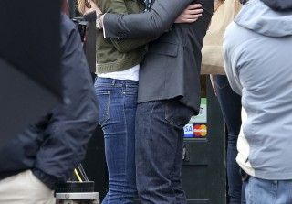 Jamie Dornan and Dakota Johnson Revv Up the Sexual Tension For Fifty Shades of Grey Filming (PHOTOS)