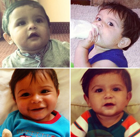 the many adorable faces of snooki�s son lorenzo lavalle