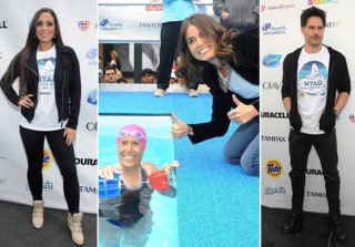 "Sammi Sweetheart, Joe Manganiello, and More Support ""Swim for Relief"" Hurricane Sandy Fundraiser (PHOTOS)"