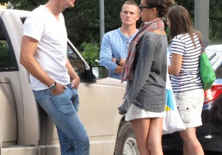 True Blood\'s Alexander Skarsgard Spotted With Rumored Girlfriend Alicia Vikander in Sweden (PHOTOS)