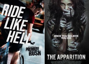 Premium Rush, The Apparition, Robot & Frank: Movies to See (or Skip) This Weekend