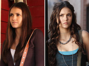 why does elena gilbert look like katherine you asked we