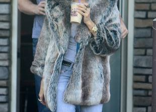 Anatomy of an Outfit: Ashley Tisdale\'s Faux Fur Fetish