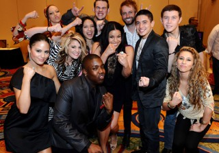 Idol Top 11 Rub Elbows With Kelly Clarkson and Jordin Sparks at Celeb Fight Night