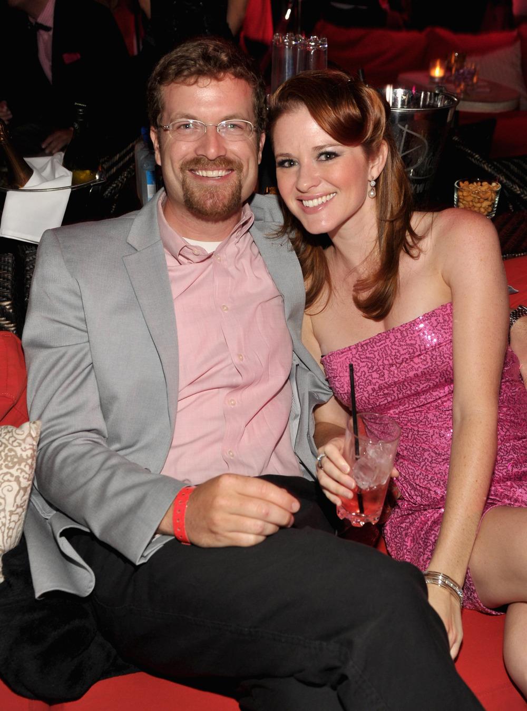 Sarah Drew and husband