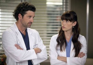 Grey's Anatomy's Chyler Leigh: Derek and Lexie Are Drinking in Heaven