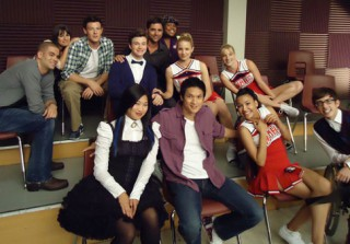Glee Cast Tweet Treats: Harry Shum Jr. Gets Set on Fire
