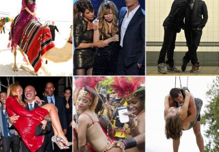 Boob Flashes and Camel Rides: Wetpaint Entertainment\'s Most Ridiculous Photos of 2011