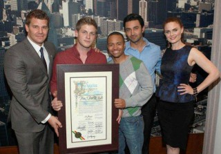 Bones Honored By LA City Council for Powerful and Patriotic Veteran's Day Episode