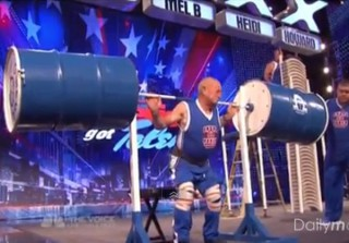 America\'s Got Talent 2013 Auditions: Omega Force Strength Team