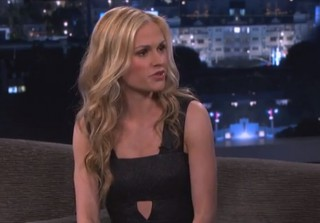 True Blood\'s Anna Paquin Talks Babies and Paparazzi on Jimmy Kimmel Live