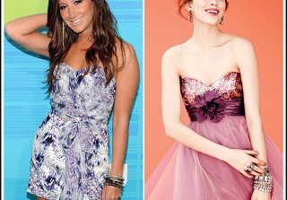 Sponsored Post: Macy\'s Prom Dress-Up! Ashley Tisdale Is the Party Girl