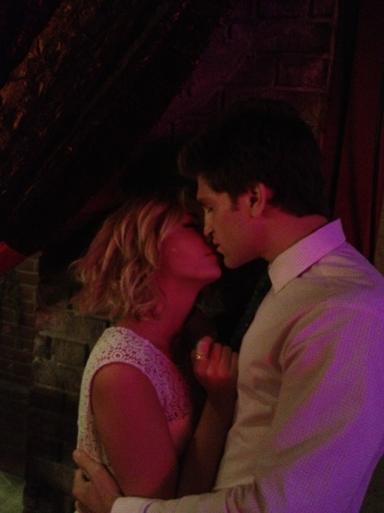Keegan Allen And Ashley Benson Kissing Hanna Hooks Up ...