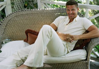 Cute Photo of the Day: David Boreanaz Is a Good Catch